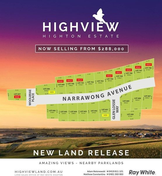 Stage 38 Highview Estate, Highton VIC 3216
