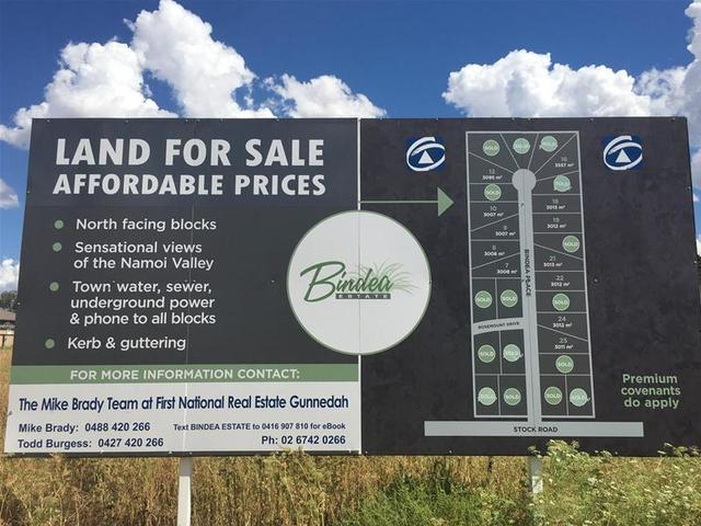 Lot 7,8,9,10,16,18,1 Bindea Place, Gunnedah NSW 2380