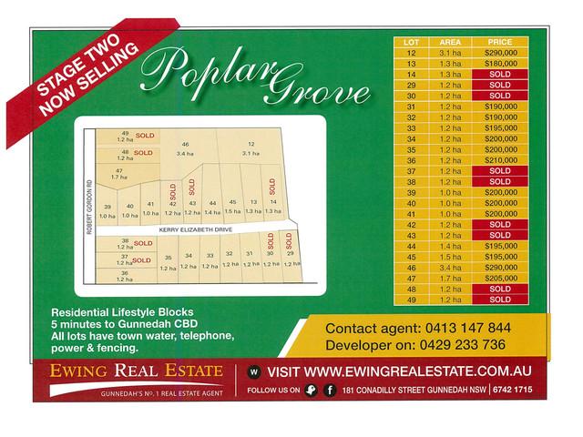 Poplar Grove, NSW 2380