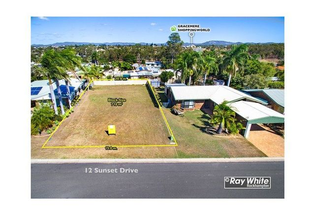 12 Sunset Drive, Gracemere QLD 4702