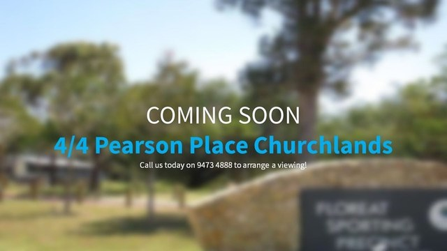 4/4 Pearson Place, Churchlands WA 6018
