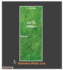 Lot 72/null Waterloo Plains Crescent