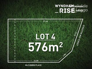 Lot 4 Wyndham Rise Estate