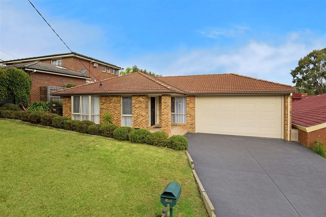 3 Parkview Court, Ringwood North VIC 3134