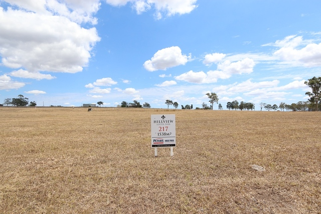 Lot 217 Hillview, Louth Park NSW 2320