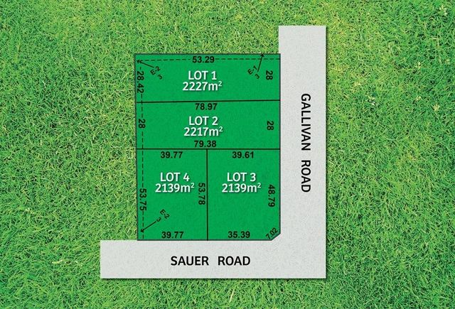 Lots 1-4 Sauer Rd, New Gisborne VIC 3438