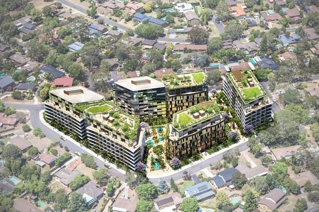 24-34 Fishburn Crescent & 2-12 Sexton Avenue, Castle Hill NSW 2154