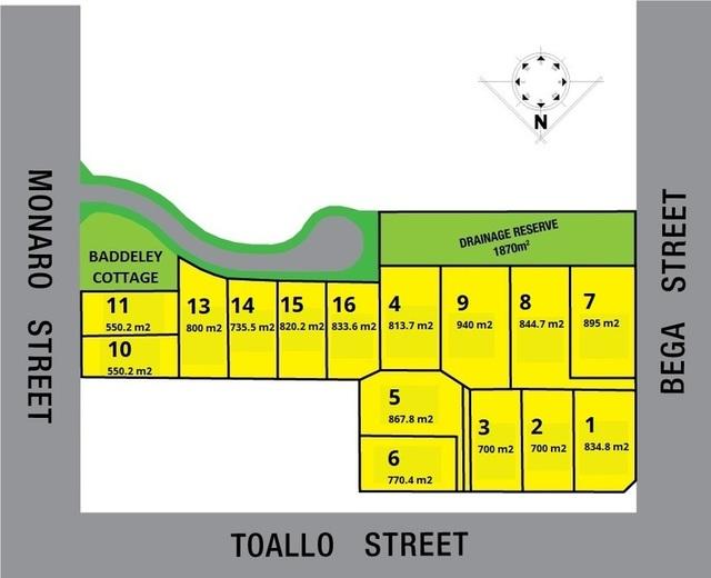 Lot 1-16 Corner Of Monaro Street Toallo Street And Bega Street, Pambula NSW 2549