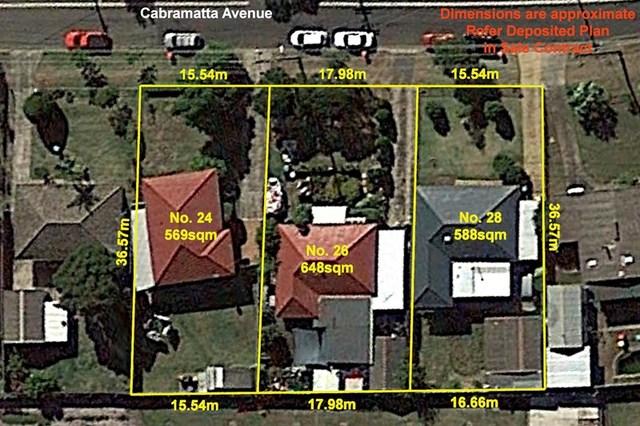 24 26 28 Cabramatta Ave, Miller NSW 2168
