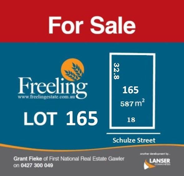 Lot 165 Schulze Street, Freeling SA 5372