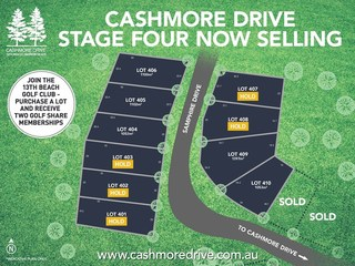 LOTS 401-410 Cashmore Drive