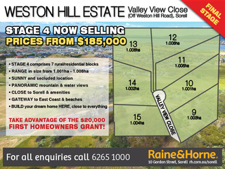 Lot 12 Valley View Close
