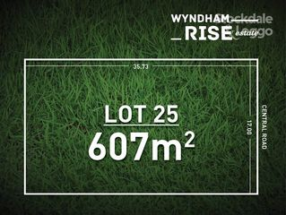 Lot 25 Wyndham Rise Estate