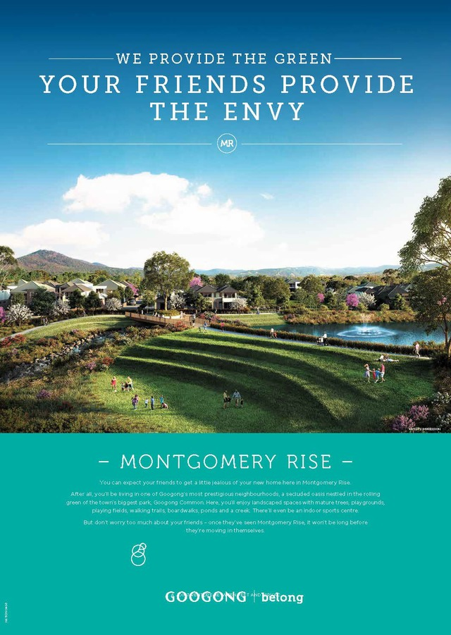 Montgomery Rise - Lot 814, Googong NSW 2620
