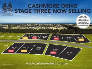 LOTS 313-323 Cashmore Drive