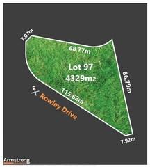 Lot 97/null Rowley Drive