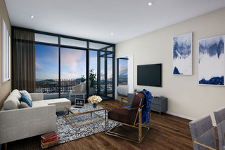 The Curzon Apartments - Deluxe 1 Bedroom Apartment, with views