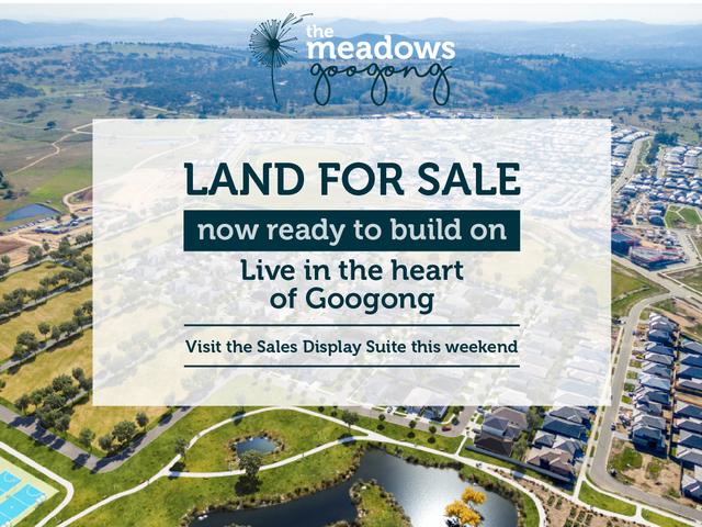 The Meadows Googong - Live in the heart of Googong, Rosa Street Googong, Googong NSW 2620