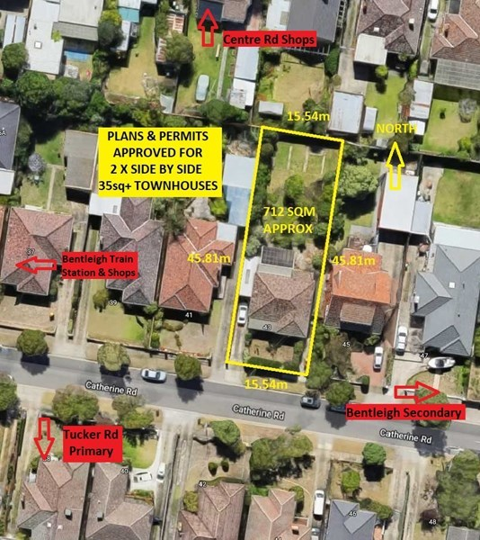 43 Catherine Road, Bentleigh East VIC 3165