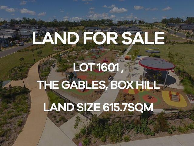 Lot 1601 Cataract Road, NSW 2765