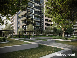 Corner apartment with desirable Northern aspect & separate balconies Phillip ACT 2606