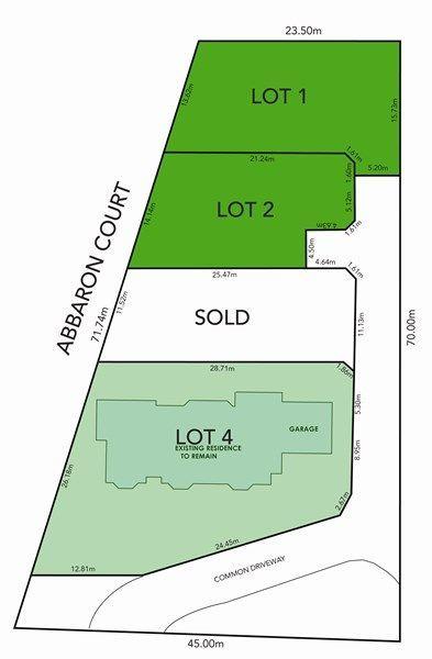 Lot 1 & 2, 4 Abbaron Court, Aberfoyle Park SA 5159