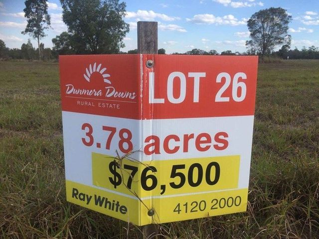 Lot 26 Wallum Froglet Court, Dunmora QLD 4650