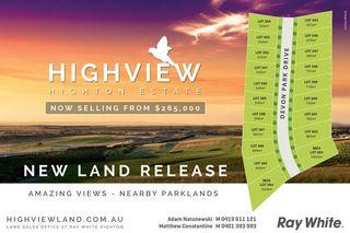 Stage 41 Highview Estate