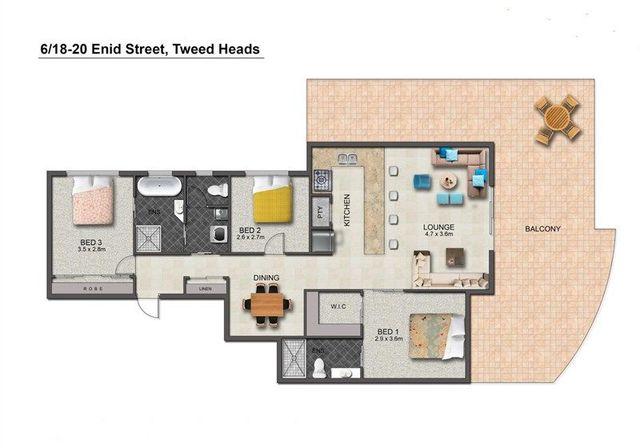 6/18-20 Enid Street, Tweed Heads NSW 2485