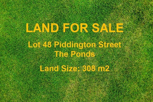 Lot 48 Piddington Street, The Ponds NSW 2769