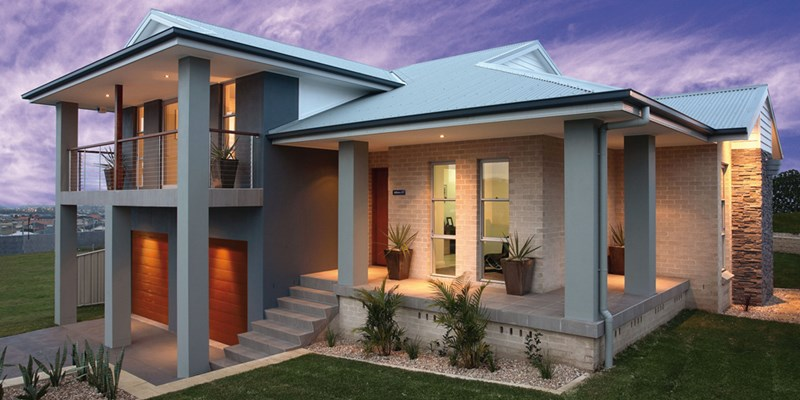 Split Level Home Designs view in gallery Lot 36 54 Saltram Cct Eglinton Nsw 2795 House Land Package