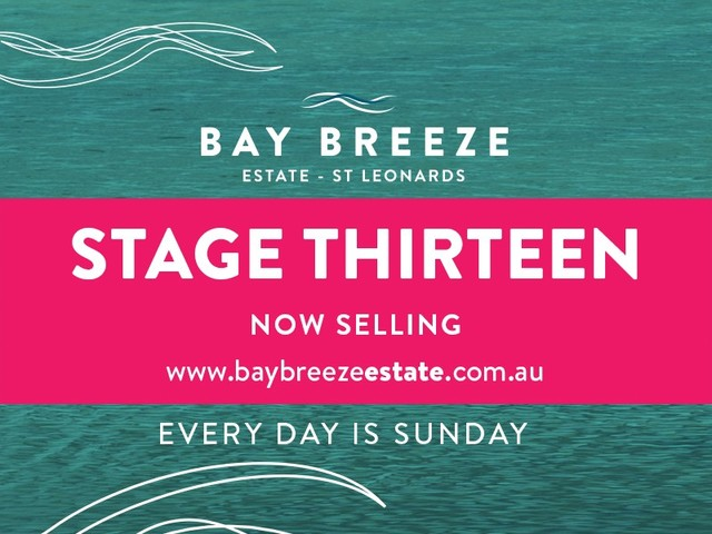 Stage 13 Bay Breeze Estate, St Leonards VIC 3223