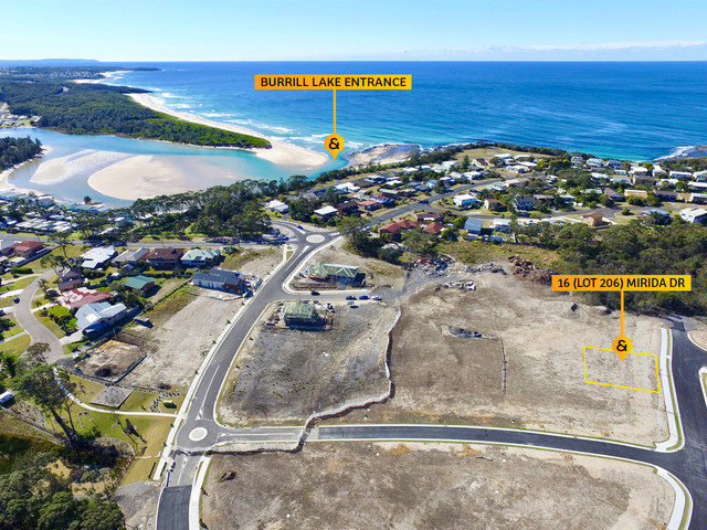 16 (Lot 206) Mirida Drive Seaside Estate, Dolphin Point NSW 2539