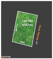 Lot 104/null Rowley Drive
