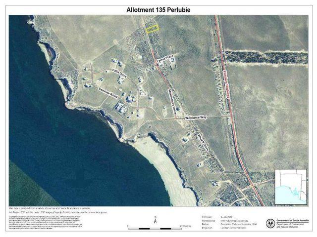 Lot 135 Perlubie, Streaky Bay SA 5680