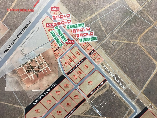 Lot 408 - 435/null Kingsford Smith Business Park, Port Hedland WA 6721