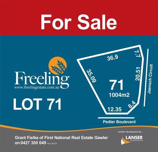Lot 71 Jaensch Circuit, SA 5372