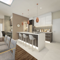 The Curzon Apartments - 1 Bedroom + Study Apartment
