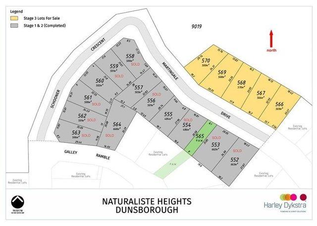 Brand New Lots Martingale Drive, Dunsborough WA 6281