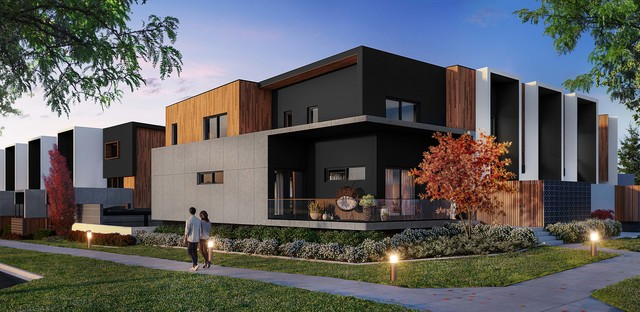 Tempo Collective - Deluxe three bedroom triplet, Throsby ACT 2914