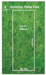 Lot 61/null Waterloo Plains Crescent