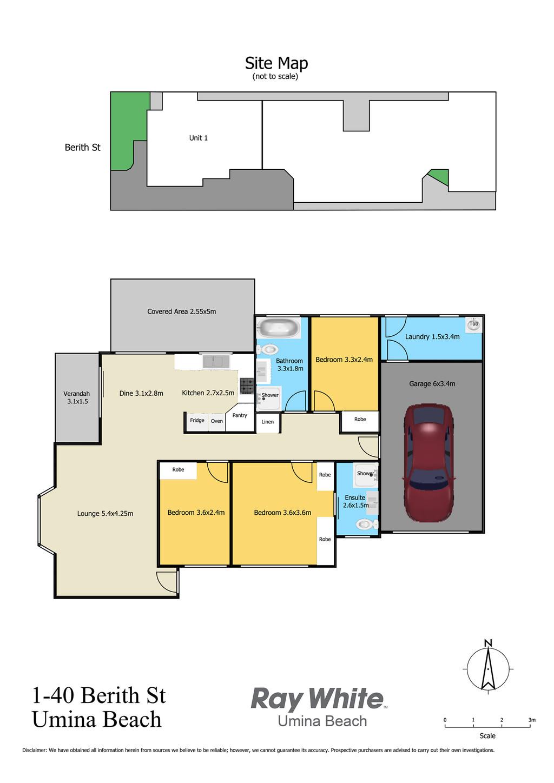 1/40 Berith Street, Umina Beach NSW 2257 - Villa for Sale | Allhomes