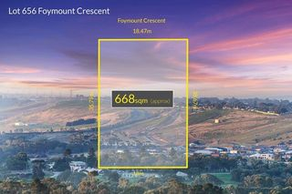 Lot 656 Foymount Crescent