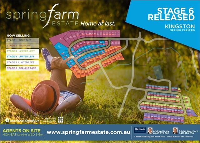 Spring Farm Estate, Kingston TAS 7050
