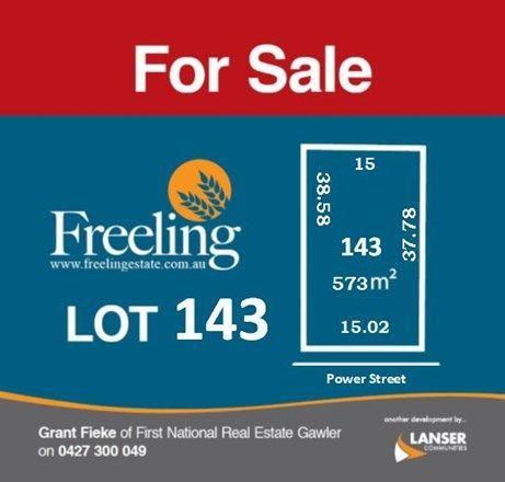 Lot 143 Power Street, Freeling SA 5372