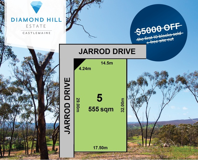 Lot 5 Jarrod Drive, Mckenzie Hill VIC 3451