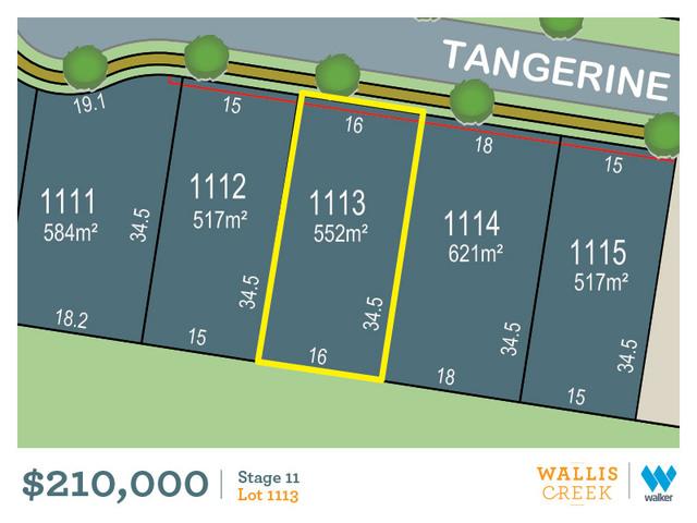 Lot 1113 Tangerine Street, Gillieston Heights NSW 2321