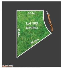 Lot 103/null Rowley Drive