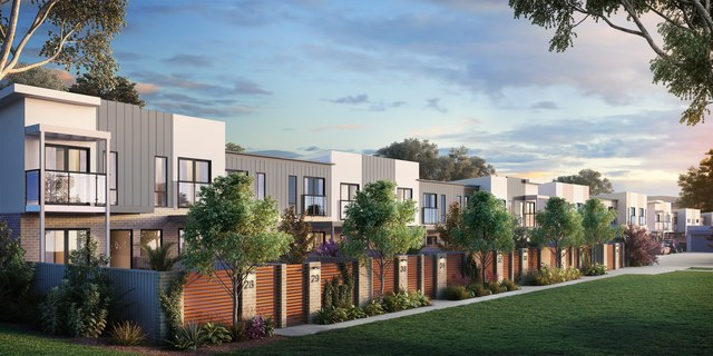 Rockwell - 155m2 3 bed, 2.5 bath, 2 car, courtyard townhouse, ACT 2617
