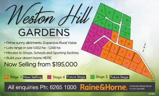 Lot 12 Weston Hill Gardens (Off Weston Hill Road)